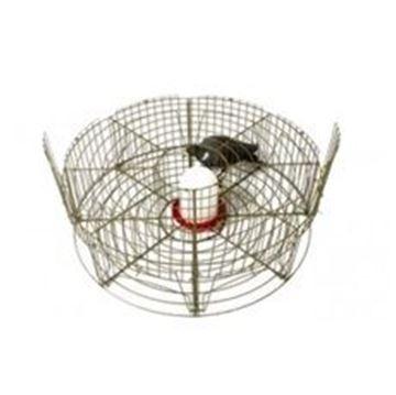 Imagem de Jaula circular para captura de pombos