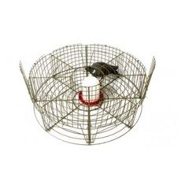 Jaula circular para captura de pombos